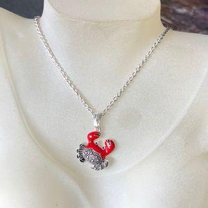 "New Crabbie Dangle necklace 16"""
